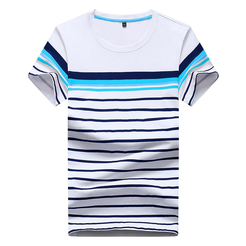 16831a7c Colorful Stripe Classic Polo T-shirt For Men - Buy Striped Full Hand T ...