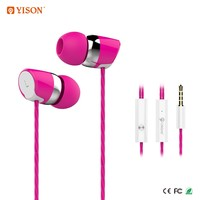 YISON S20 3.5mm In-Ear Earphone Wired Stereo Earbud Headphones With Microphone
