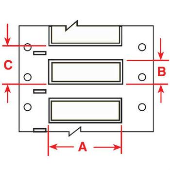 Brady Hx-187-2-wt-j-4,117284 Permasleeve Wire Marking Sleeves ...