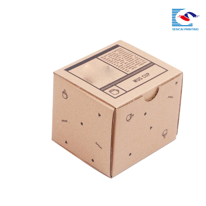 hot selling coffee mug gift paper packaging box