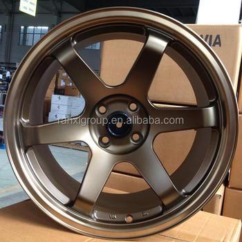 New Design Matt Black Car Alloy Wheels Aluminum Car Mag Wheel Rim