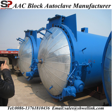 Small High Pressure Automatic AAC Autoclave Production Line