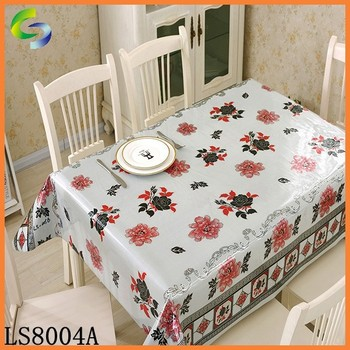 2017 New Style Fabric Painting Designs On Table Cloth