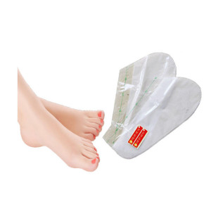 Hot sale Foot Peel Mask Exfoliant for Baby Soft Feet, Lavender Chemical Callus Remover Dry Skin Foot