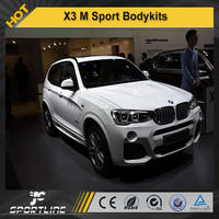 2013UP X3 M Sport Style PP Auto Car Body styling Kits, Bumper Body Kit For BMW
