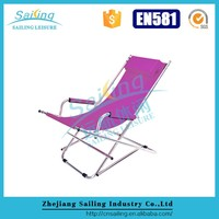 Classic Lightweight Folding Chair Rocking Beach Chair