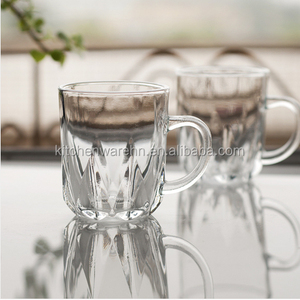high quality super white 250ml mini glass beer mug