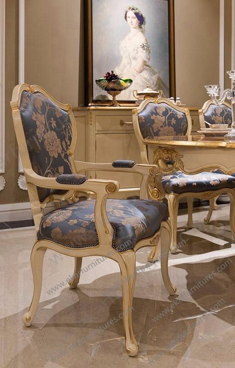 Alibaba Retro Classic Italian Dining Chair Upholstery Fabric Dining Room Chai