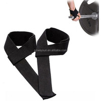 Men Leather Padded Gym Weight Lifting Straps Crossfit Wrist Support Wraps Hand Bar Bodybuilding Strength Power Training