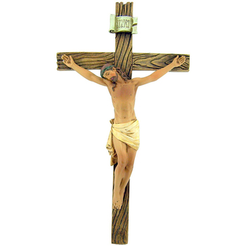 resin jesus christ wall crucifix catholic crosses for home chapel
