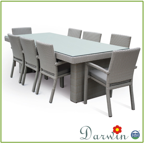 Patio Wicker Dining Furniture Outdoor Rattan Chair