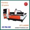 China factory 2000w open structure fiber laser cutting 20mm carbon steel metal sheet fiber laser cutting machine price