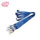 Wholesale silkscreen printing short neck safety lanyard
