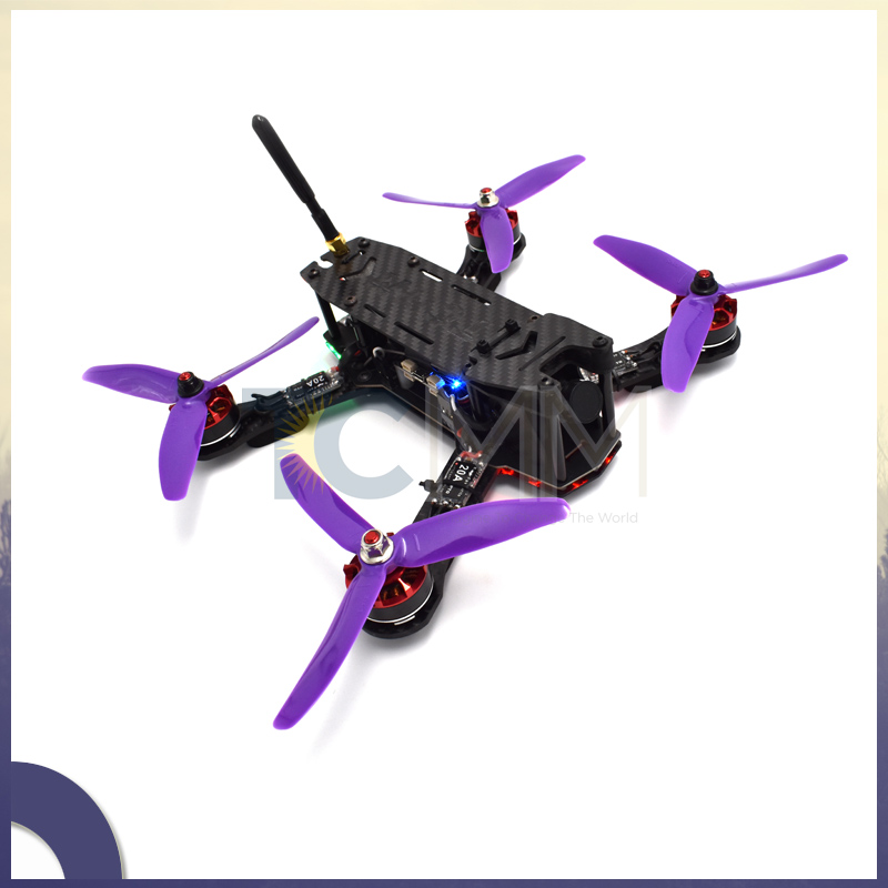TCMM ONE TC-1 180mm 210mm with 8pcs 3mm arms w/ PDB Carbon Fiber Frame Kit For RC FPV Cross Racing Drone Quadcopter