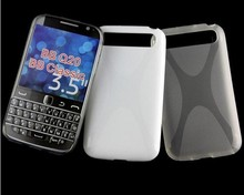 Mix Color For BlackBerry Q20 TPU Gel Case X Line Cover
