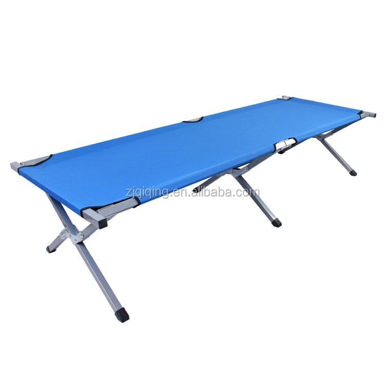 2016 new style Folding military camping cot,foldable lightweight portable camping bed for sale DF-12-8