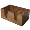 Packaging box wooden factory solid pine wooden table bar caddy