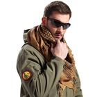 "6 colors stock 100% Cotton Military shemagh Arab Tactical Desert 43""x43"" keffiyeh Thickened Scarf Wrap for Women and Men"