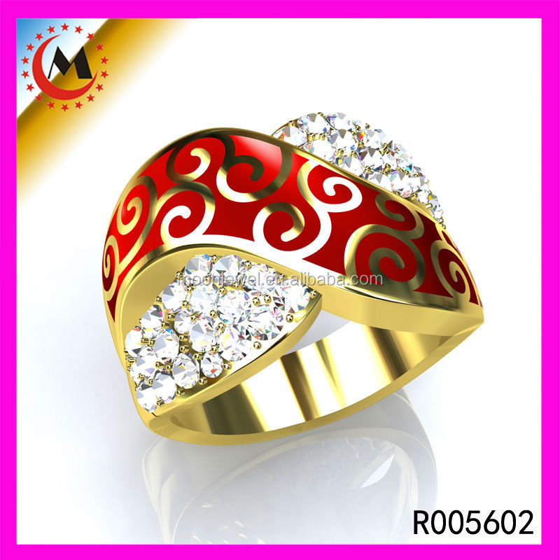 Chinafactory Hot Popular Gold Ring Design,Traditional Jodha Akbar ...