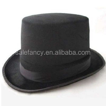 cheap top hats Mens Gents Unisex slash open top hat for sale QHAT-8521 7113d9aa9c7