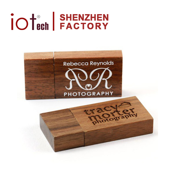 Factory Price Commercial Gift Wood USB Shape Thumb U Disk with Free Custom logo Photo