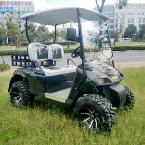 High performance electric operated club car golf cart accessories With cargo box