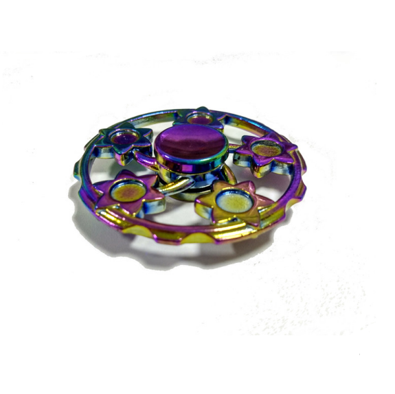 QS brand customized fidget spinner gift custom high quality colorful wheels zinc alloy fidget spinner