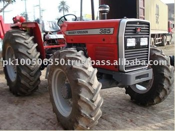 Massey Ferguson 385 85 Hp Four Wheel Agriculture Tractor