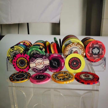 EPT Ceramic Poker Chips Casino Quality Custom Blank Ceramic Chips