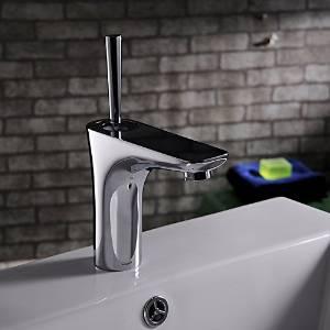 Furesnts Modern home kitchen and bathroom faucet European modern copper bathroom sink basin hot and cold Mixer Faucets Kitchen Bathroom Sink Faucets,(Standard G 1/2 universal hose ports)