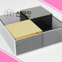 Astrid Acrylic Plastic Home Accessories Storage Containers kitchen accessories