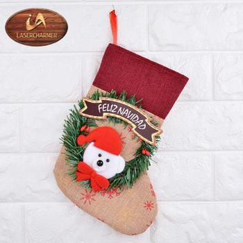 Embroidered Christmas Stockings.2018 Wholesale Monogrammed Embroidered Christmas Stocking Farmhouse Style View Hand Made Christmas Stocking Lasercharmer Product Details From
