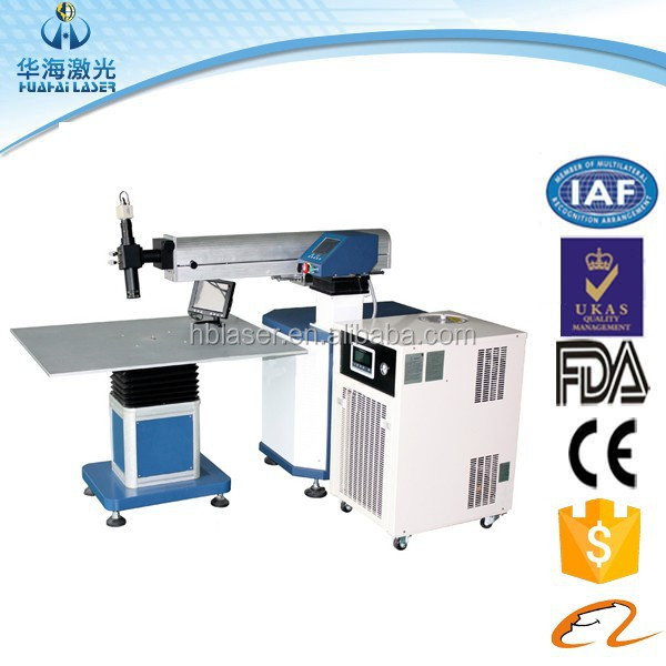 Greatest design welding machine high level channel AD letter laser welding machine CE FDA quality guarantee