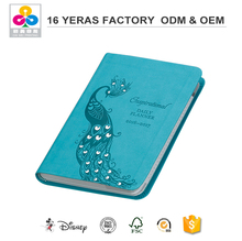 Embossed Hard Cover Soft Cover Notebook Leather Agenda Book Personal Diary Printing