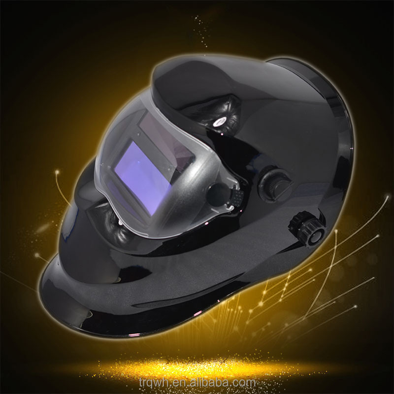 China Solar Powered Stepless TIG Painting Welding Helmet with Sensitive Button