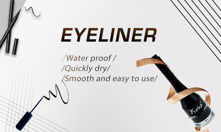 New Arrival High Grade Quick Dry Waterproof 24H Long Lasting Eyeliner