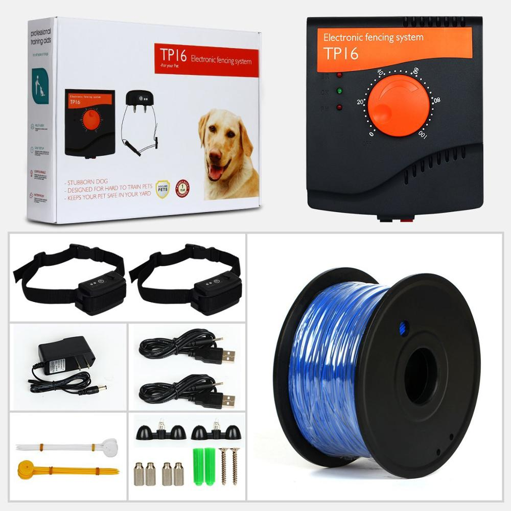 2017 Hottest in Amazon Electronic Shock Wire Fence TP16 Outdoor Dog Protable Pet Dog Fence