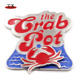 Seattle souvenir Spinner rotate crab fridge magnet