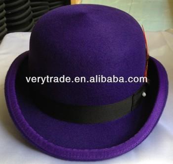 Mens-hats-charlie-chaplin-bowler-hat Purple - Buy Chaplin Bowler ... 4dbb6b6dda6