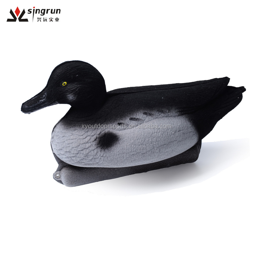 Duck Decoys Foldable Water Floating Golden Eye Duck Decoys/Baits for Duck Hunting