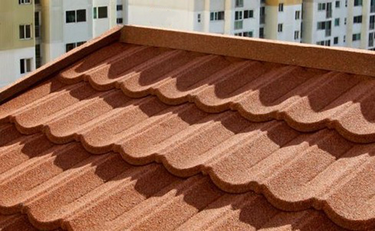 Building Material Strong Sand Coated Metal Roofing Tiles