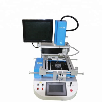 Low Price S46 Infrared IR SMT SMD BGA Rework Station,Auto LED Hot Air Reballing Soldering Station for iphone