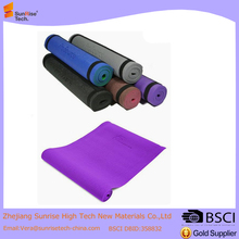 1/4 inches yoga mat with carrying strap