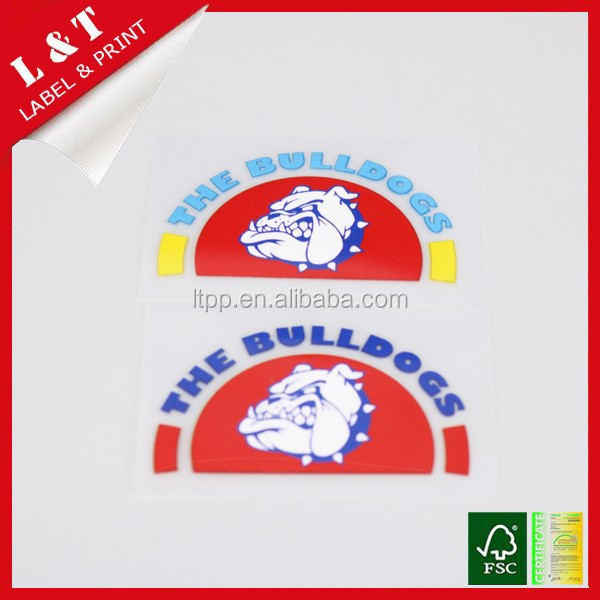 Hotselling heat press labels for school uniform