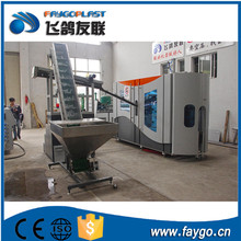 pet bottle blow molding machine with servo system