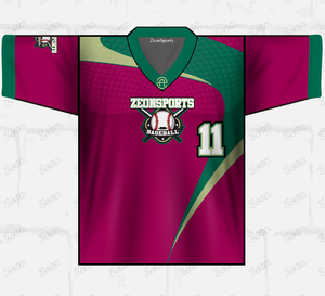 Custom Sublimation Sports Wear Team Wear New Design 100%polyester Baseball Jersey Uniform