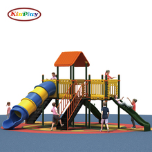 KINPLAY brand amusement Outdoor Commercial Playground Equipment Slides Toys for Children