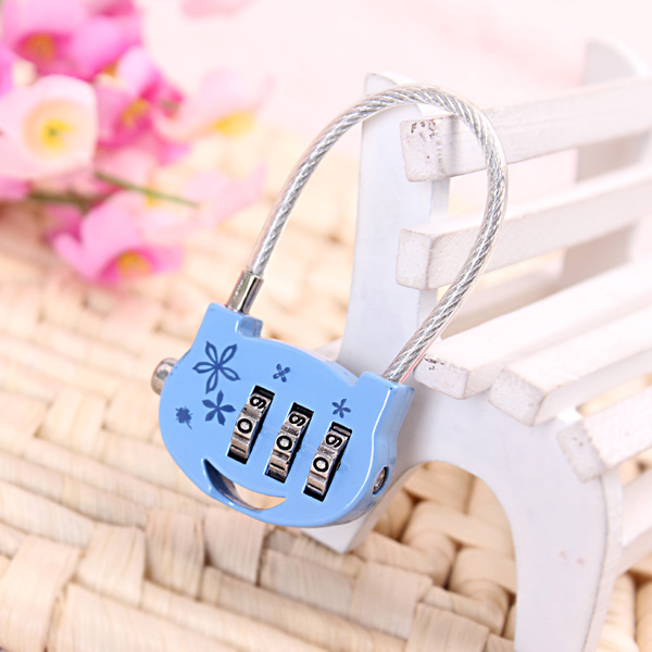 CH-011 high security beautiful cartoon lock alarm padlock
