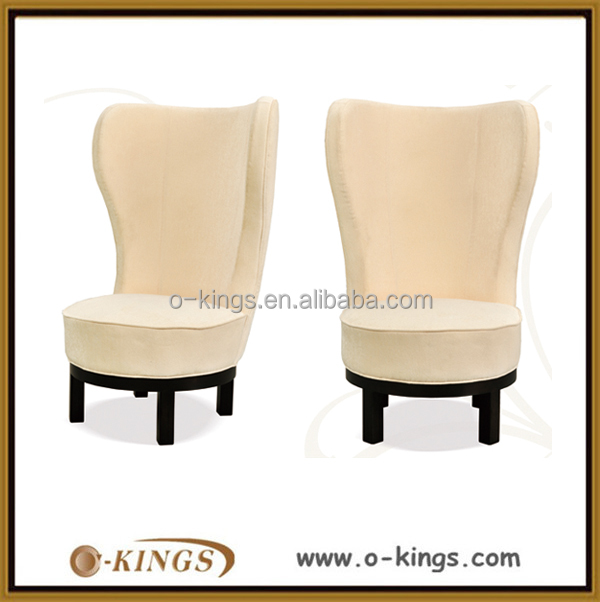 Restaurant high back wooden dining room chair