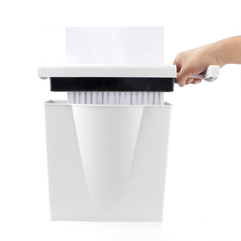 Office gebruik mini shredder band of band shredder machine goed uitziende papiervernietiger